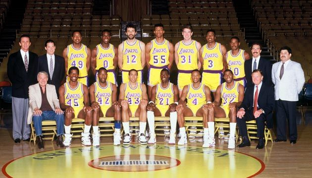 1989 90 Season All Things Lakers Los Angeles Times Lakers Los Angeles Lakers Basketball Los Angeles Lakers