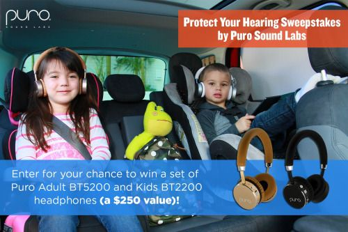 Win a Set of Adults and Kids Puro Headphones - 10/16/16 {US} via... sweepstakes IFTTT reddit giveaways freebies contests