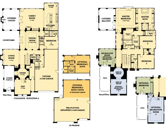 Sedonaatdosvientosranch Com House Plans Floor Plans My Home