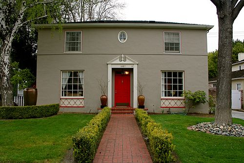 I am repainting the shutters/door on my house...shutters will be ...