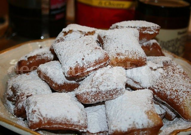 Oh my gosh, the memories associated with beignets for me are many and they are all associated with one place, the Café du Mondé coffee stand, in the Old Jackson Square area of the French Market in downtown New Orleans.
