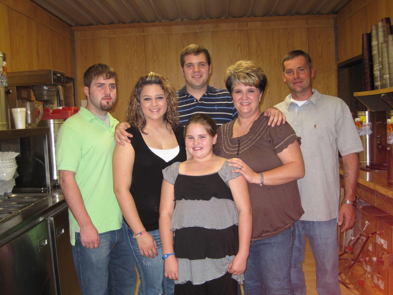 Kim, Ronnie, Kyle, Hailey, Nathan & Brittney