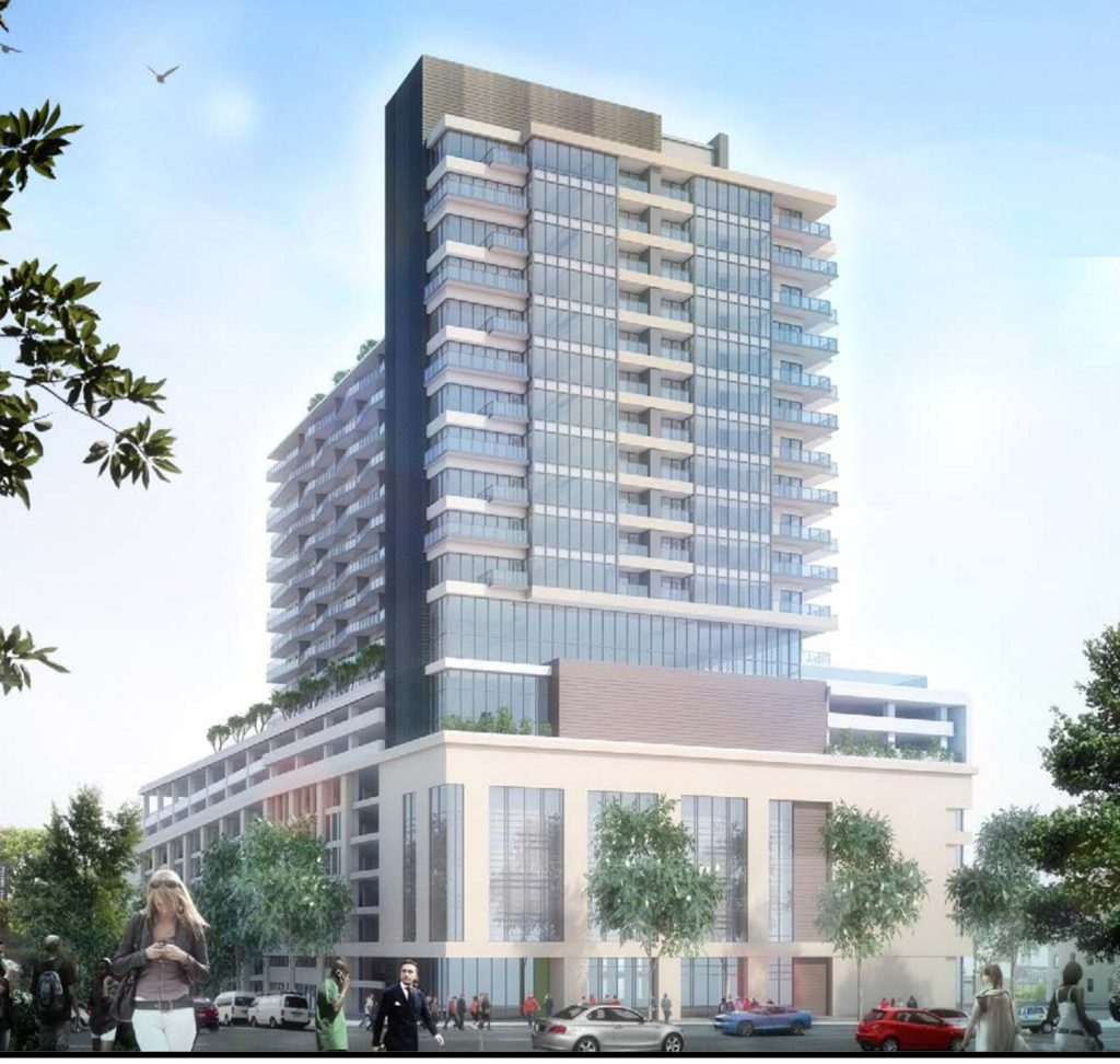 Apartments For Rent Peachtree Road Atlanta: Downtown To Get New Apartment Tower Atop Parking Deck