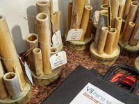 Realizado con cañas y madera. Totalmente artesanal. malaga, coin, biodiversidad, intercambio, semillas, huerto ecologico, banco de semillas.