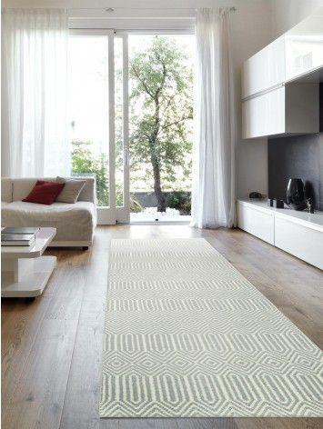 Teppich Läufer Sloan Türkis #benuta #teppich #interior