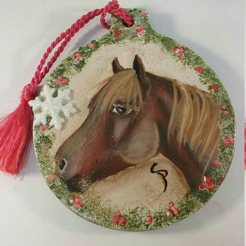 Excited to share the latest addition to my shop horse christmas excited to share the latest addition to my shop horse christmas ornament painted horse ornament christmas tree ornament painted horse art gift for him negle Choice Image