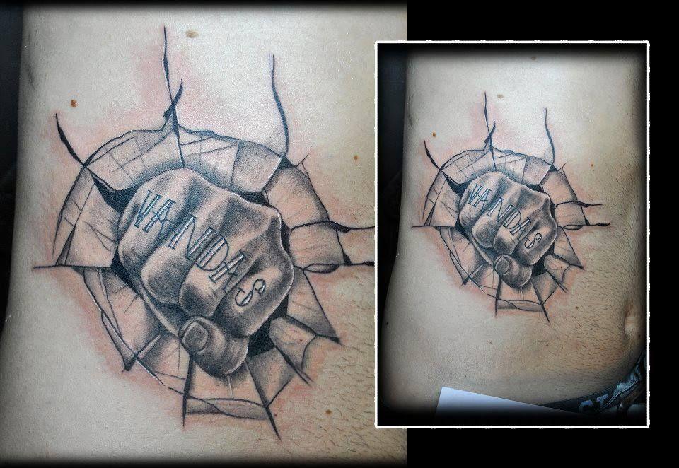 Hooligan tattoo