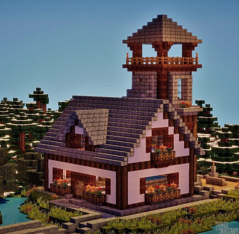 Things I Do On Minecraft — Town Project Recap #31  I forgot to upload this... #minecraftbuildingideas