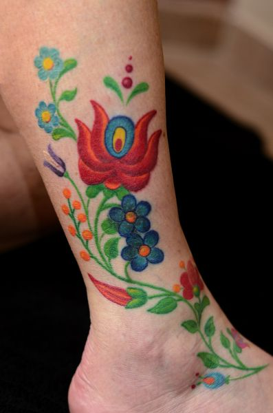 Skin Stitch Tattoos: Sewn Into The Skin (traditional Hungarian Embroidery