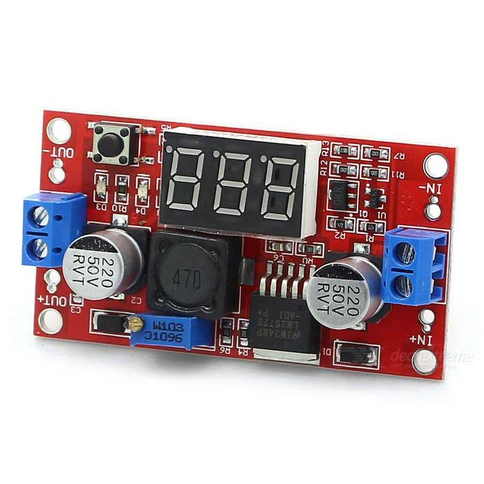 KEYES LM2577 3A DC-DC Boost Voltage Module w/ Digital Display - Red. Find the cool gadgets at a incredibly low