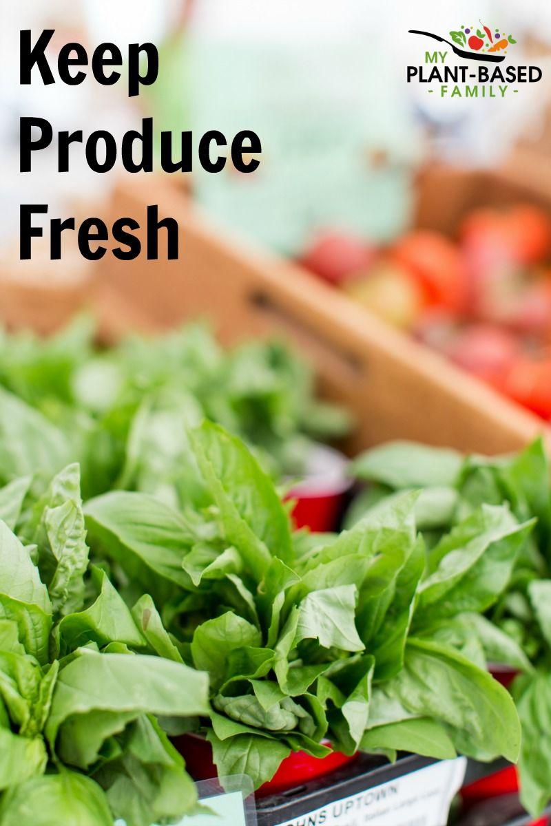 Keep produce fresh with images plant based plant