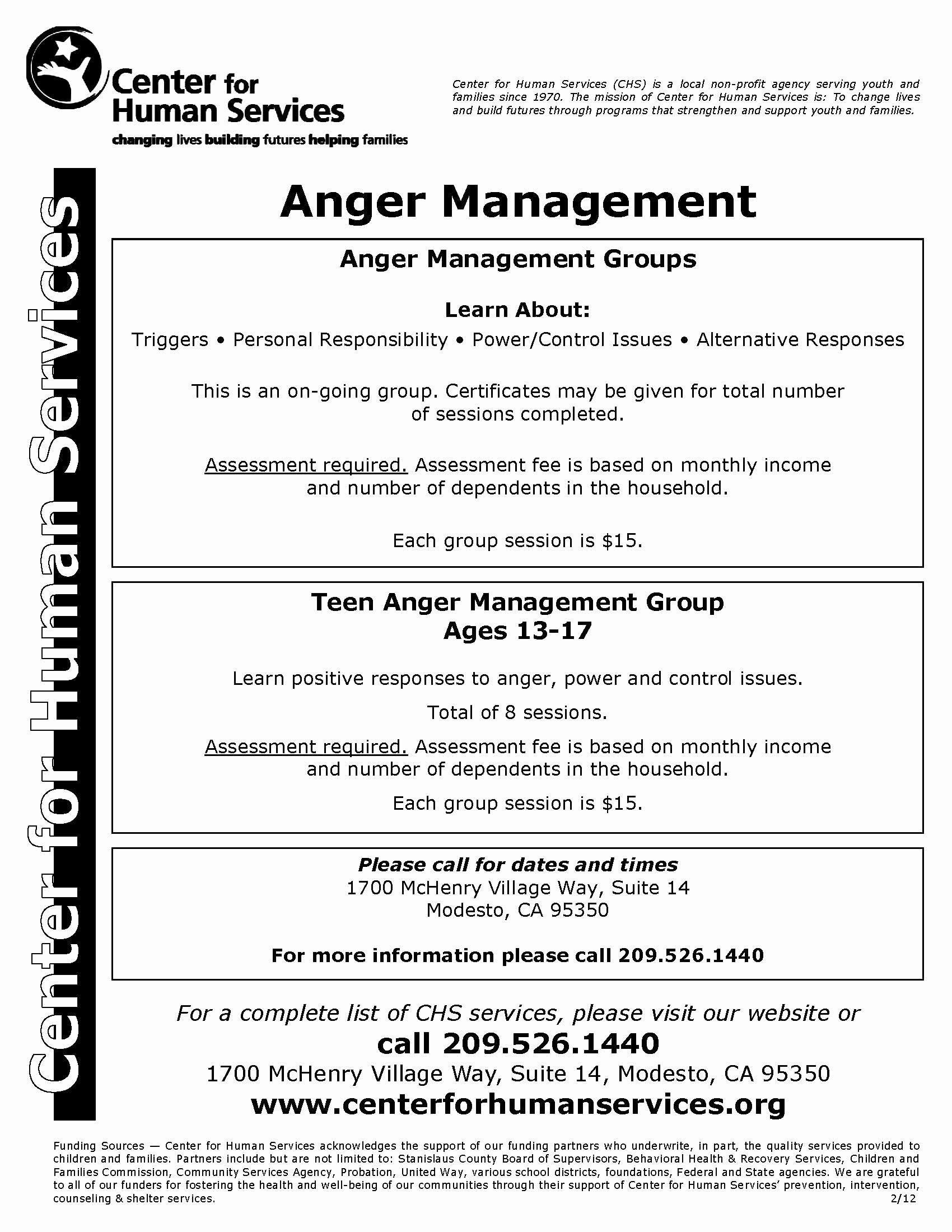 50 Anger Management Worksheet For Teens In