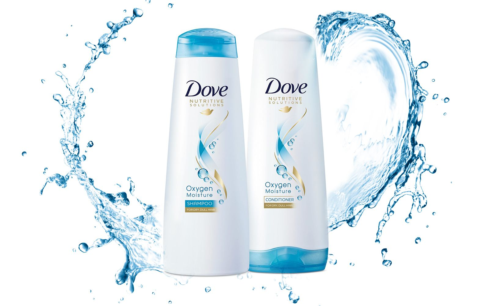 Dove Oxygen Moisture Shampoo and Conditioner Review