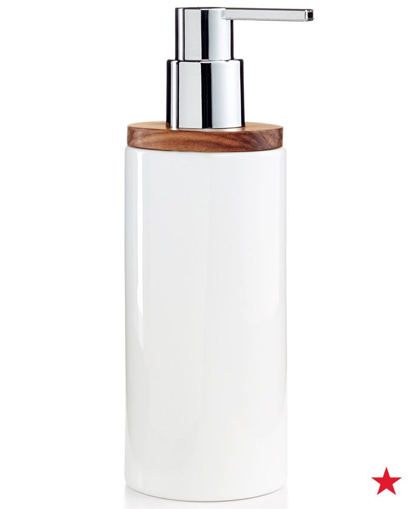 Hotel Collection Century Soap And Lotion Dispenser Only At Macy S Bathroom Accessories Bed B Lotion Dispenser Bathroom Lotion Dispenser Hotel Collection