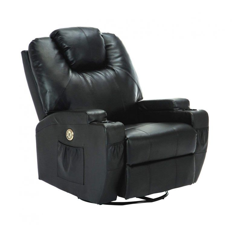 Terrific Suncoo Massage Recliner Bonded Leather Chair Leather Short Links Chair Design For Home Short Linksinfo