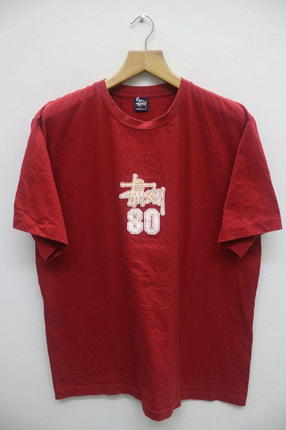 e0cd19e8359e Vintage STUSSY 80 T Shirt | Vintage Clothing Mall | Vintage outfits ...