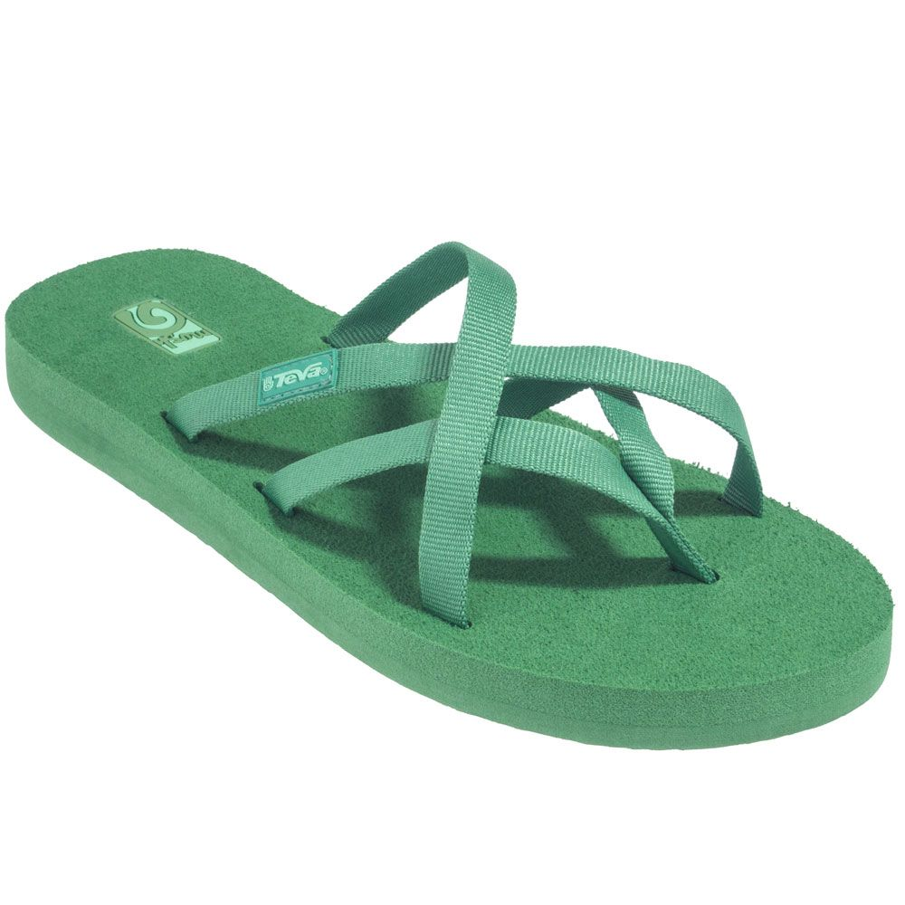 5681e8588d11b Teva Sandals  Women s 6840 SNG Stone Green Olowahu Flip Flop Sandals ...