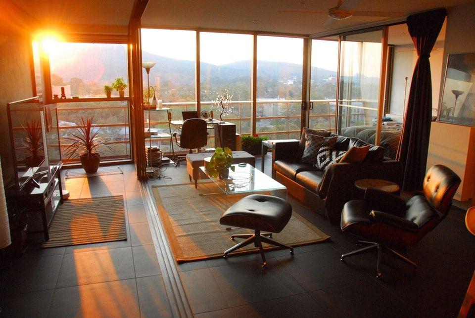 Where men can live minimalism interior modern room