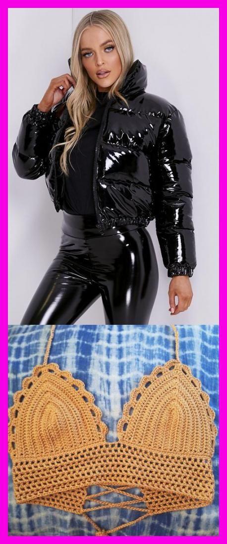 Black Vinyl Cropped Puffer Jacket – LASULA  #Buumlgel-Bikini-Top #RaquoScalloplaquo #Wattierung #Wellenkante #Freizeit-T-Shirt-Outfits #myfoodandfamily #wholefoodsmarket #lchfbreakfastrecipes #outfitsideen #makeupideen #breakfeastideen #sportideen