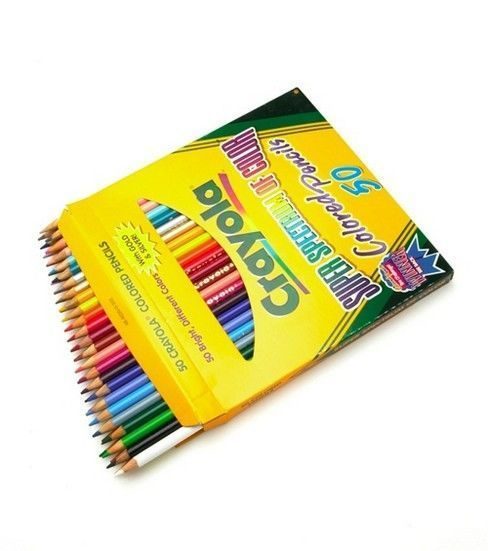 Crayola Colored Pencils 50 Pkg Long Crayola Colored Pencils
