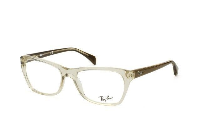 095a0b93851 RAY BAN NEW PLASTIC BEIGE CLEAR BROWN WOMEN RX EYEGLASSES RB 5298 5234 55-17   RAYBAN