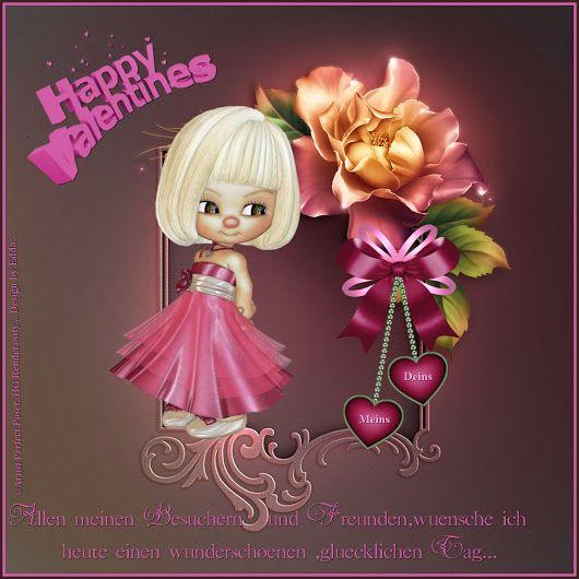 Meine Valentinsgrüße Für Euch Alle.