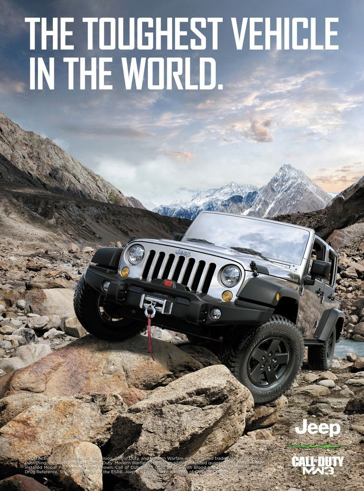 For Call of Duty MW3, Jeep created an ad to relate to those who are