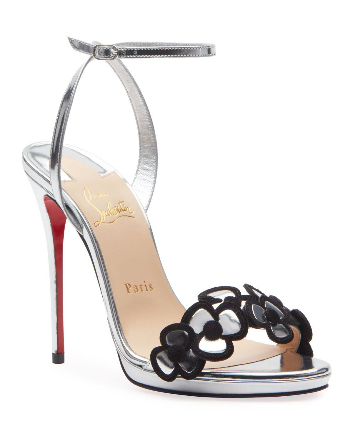 Christian Louboutin Pansy Queen 120 Red