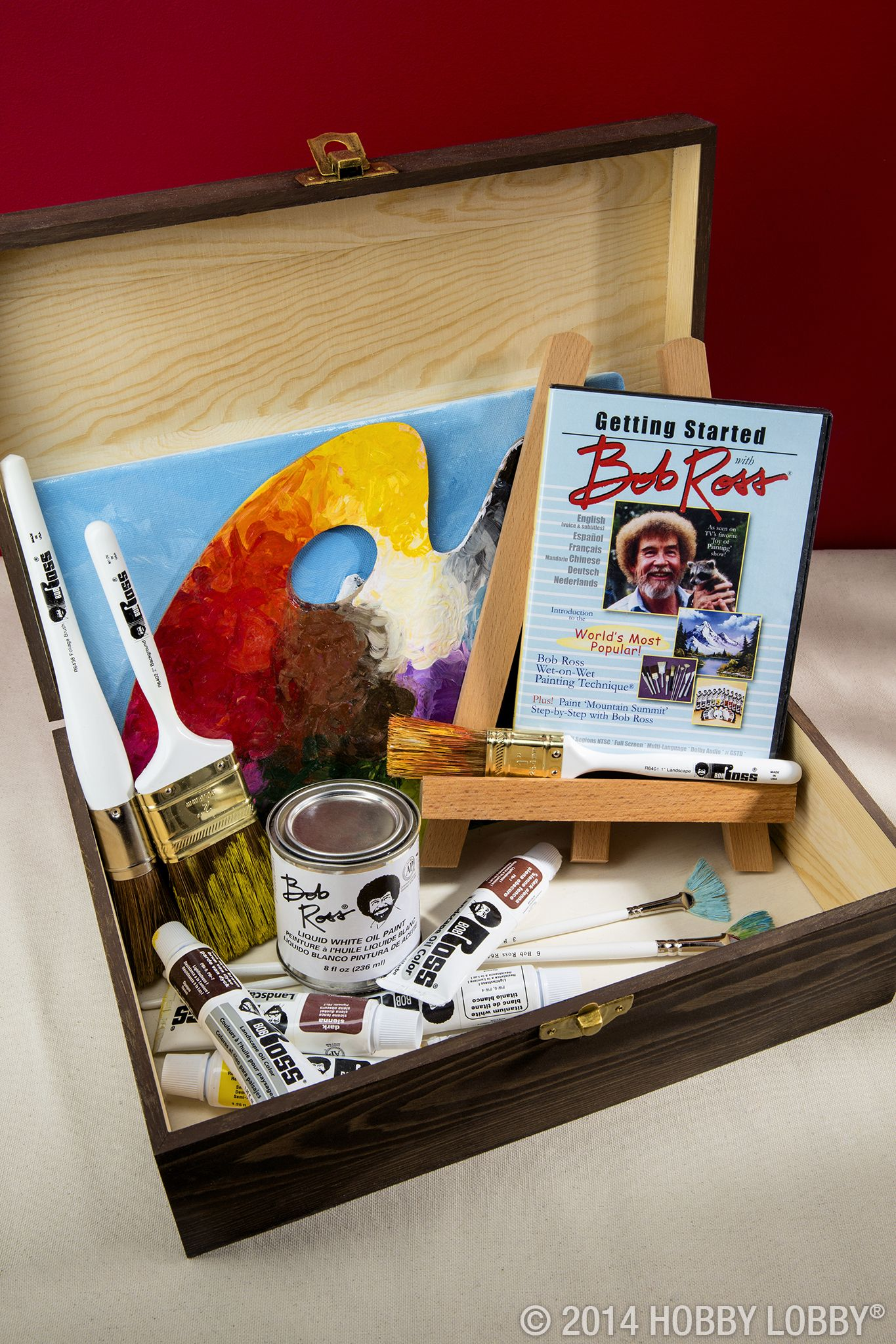 The Joy Of Painting Host Bob Ross Has A Fabulous Collection Of Art