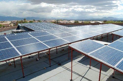 Desert Spring United Methodist Church 120 N Pavilion Center Drive Used A 244 350 Rebate Check From Nv Energ Solar Panel Installation Solar Roof Solar Panel