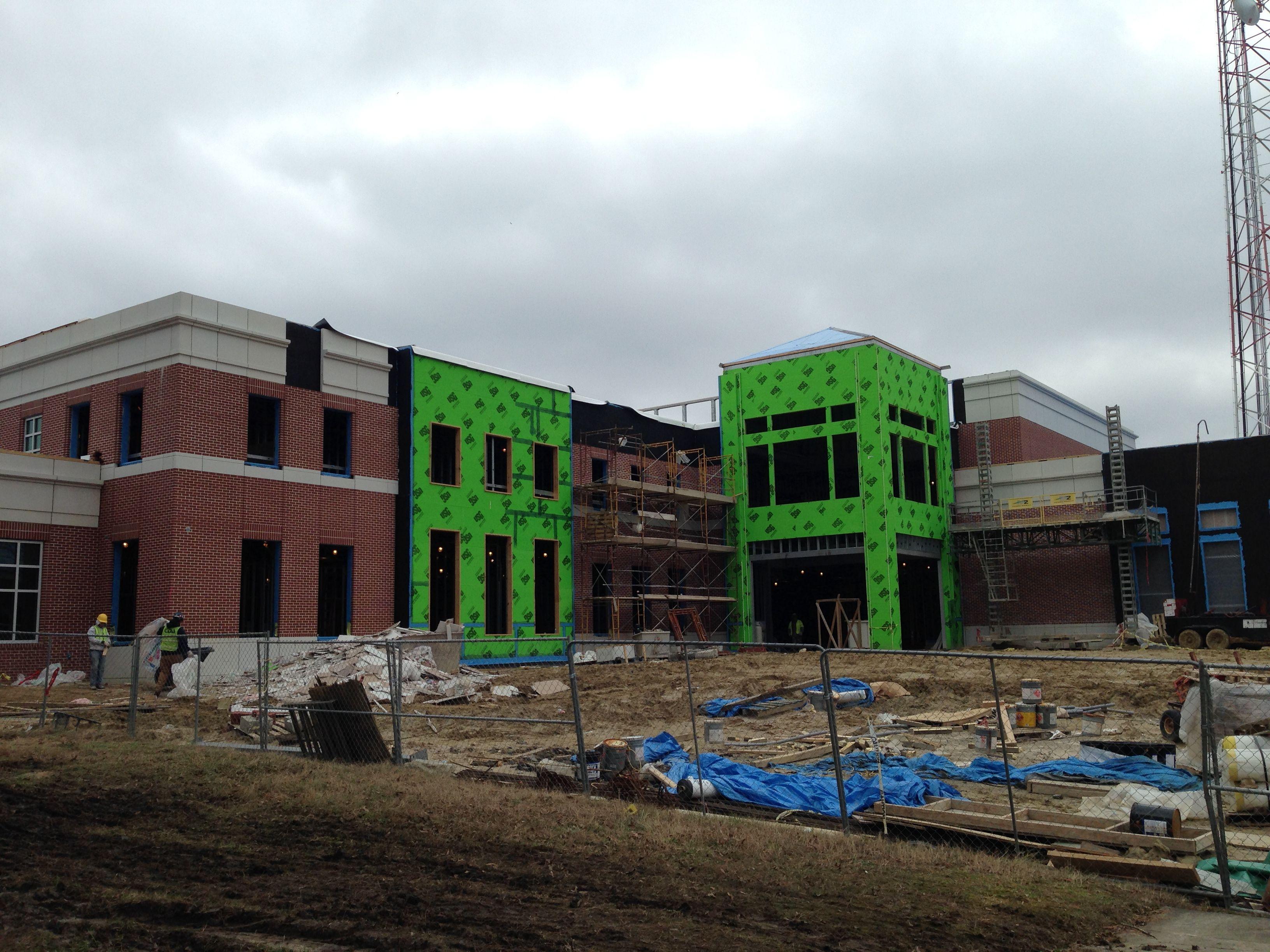 Suffolk Municipal Center exterior under construction. www ...