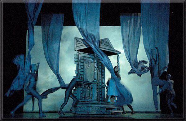 Elegant Wizard Of Oz Play Scenery Munchkinland | Stuart Marshall Theatre Design The  Wizard Of Oz | Wizard Of Oz | Pinterest | Theatre Design, Scenery And Plays