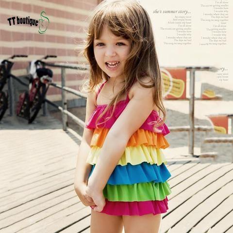Rainbow Swimwear