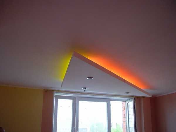 30 glowing ceiling designs with hidden led lighting fixtures, Wohnzimmer