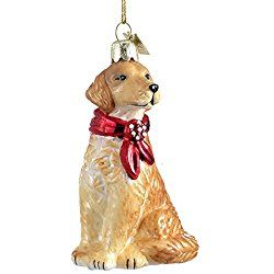 Golden Retriever Christmas Ornaments With Images Golden