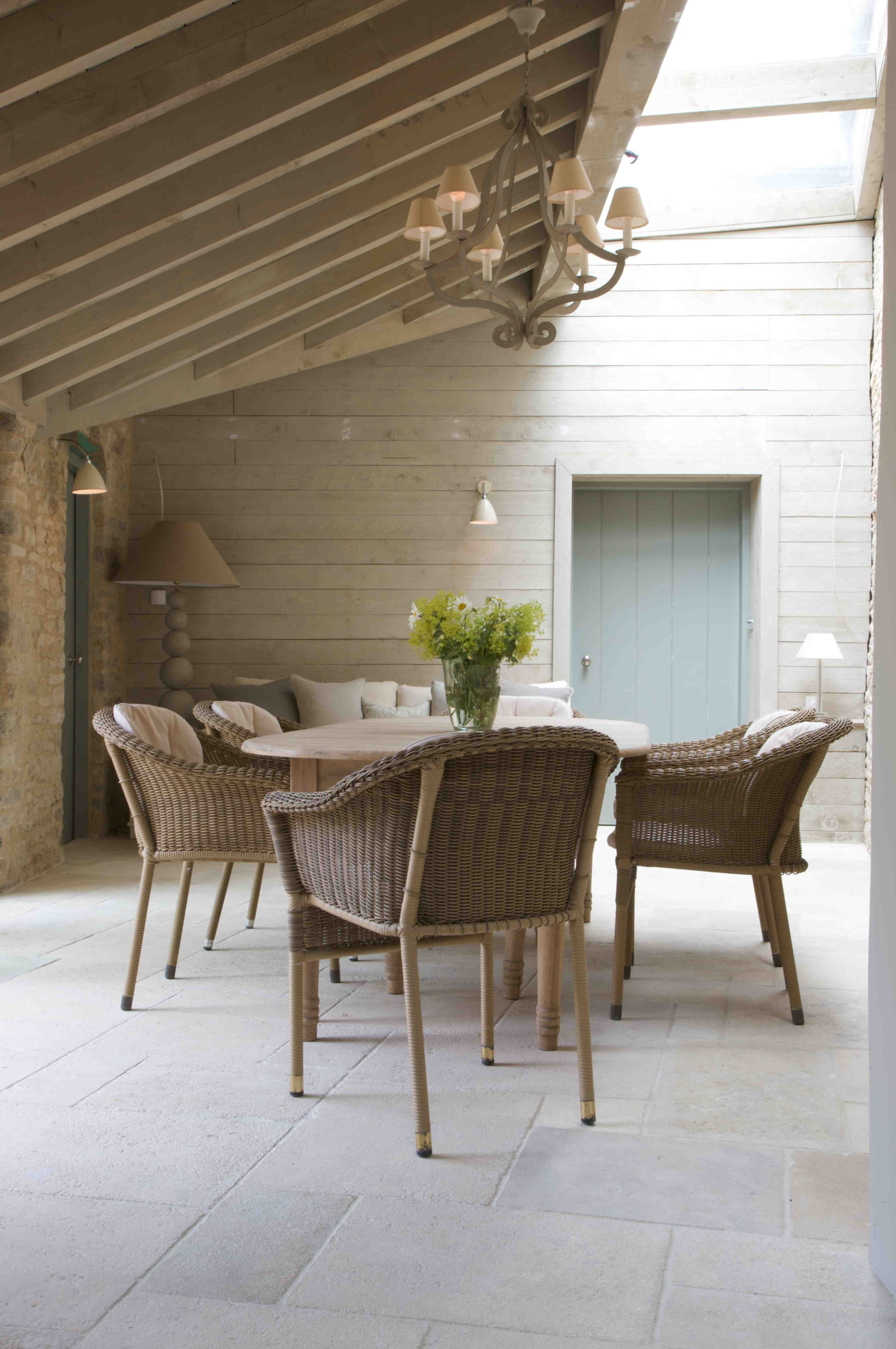 Limestone floor tiles look great in a conservatory orangery or sun limestone floor tiles look great in a conservatory orangery or sun room dailygadgetfo Image collections