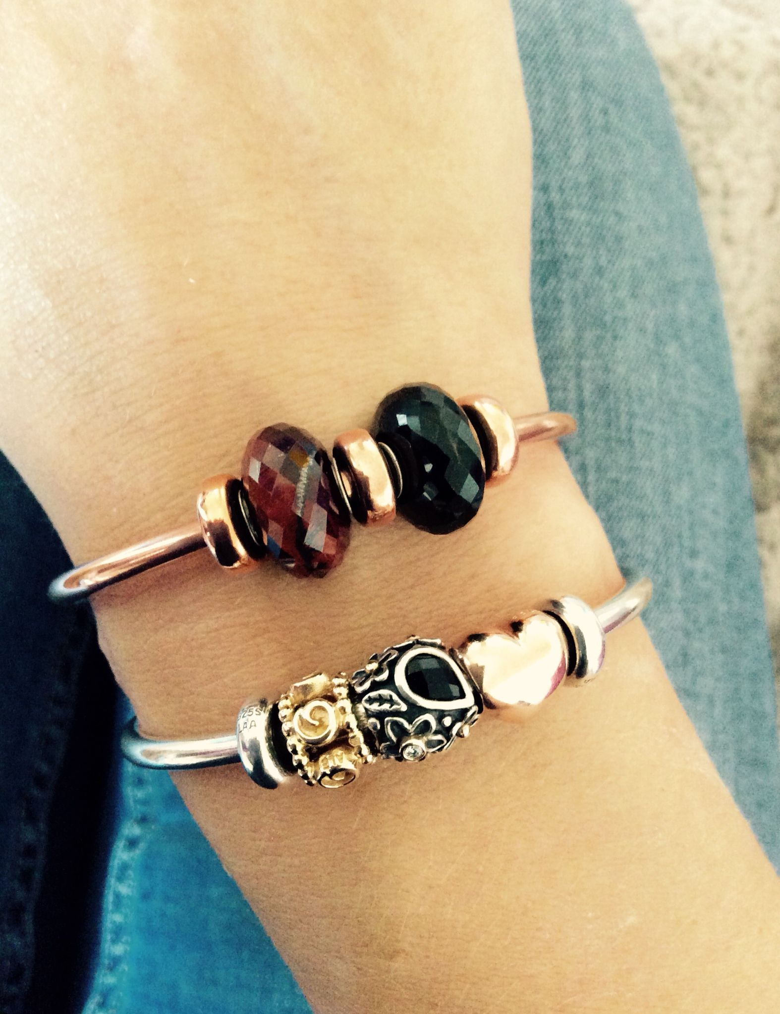 Pandora Bangle Beaded Braclets Charm Bracelets