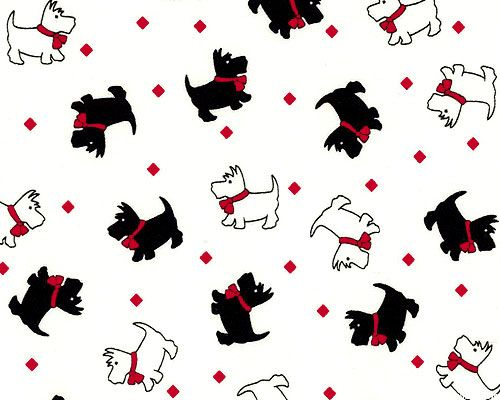 Kim S Cause Walk In The Park Scottie Dog Fashion White From Equilter Com Dibujo De Mascotas Gif De Perros Mascotas