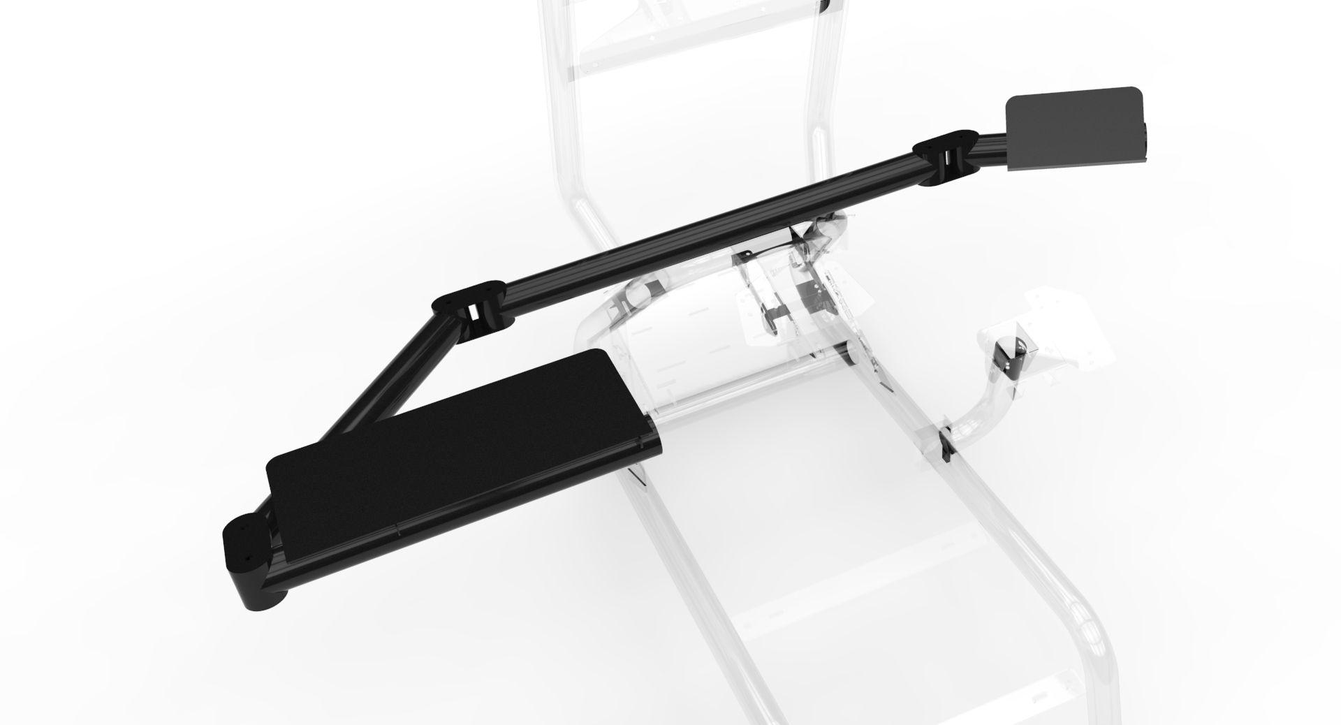 USD 29 56] AZRACING simulation racing steering wheel bracket