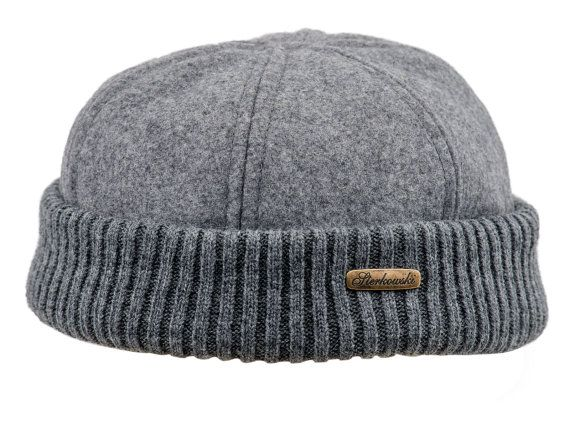d03f66837 NAVY WATCH Wool Cloth Dock Worker Beanie Stevedore Longshoreman Cap ...