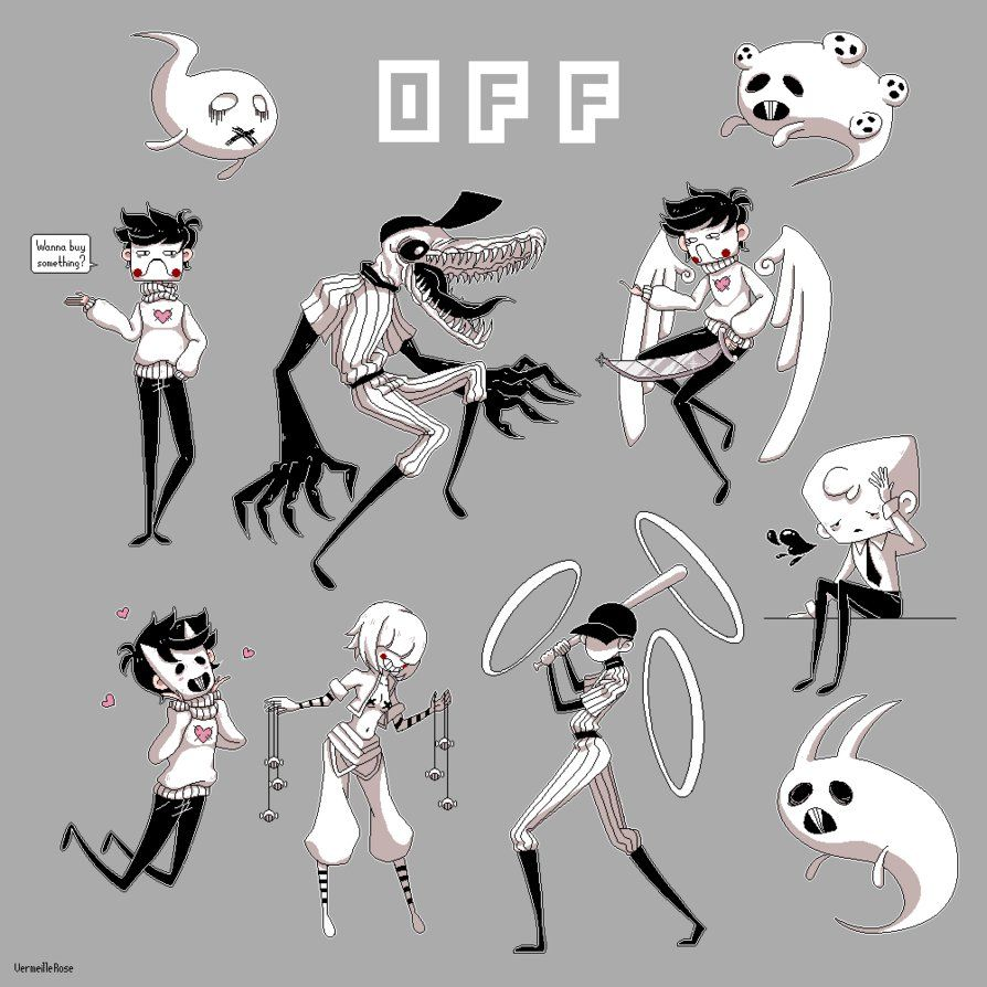 Pixel Fanart Game 'OFF' By Mortis Ghost