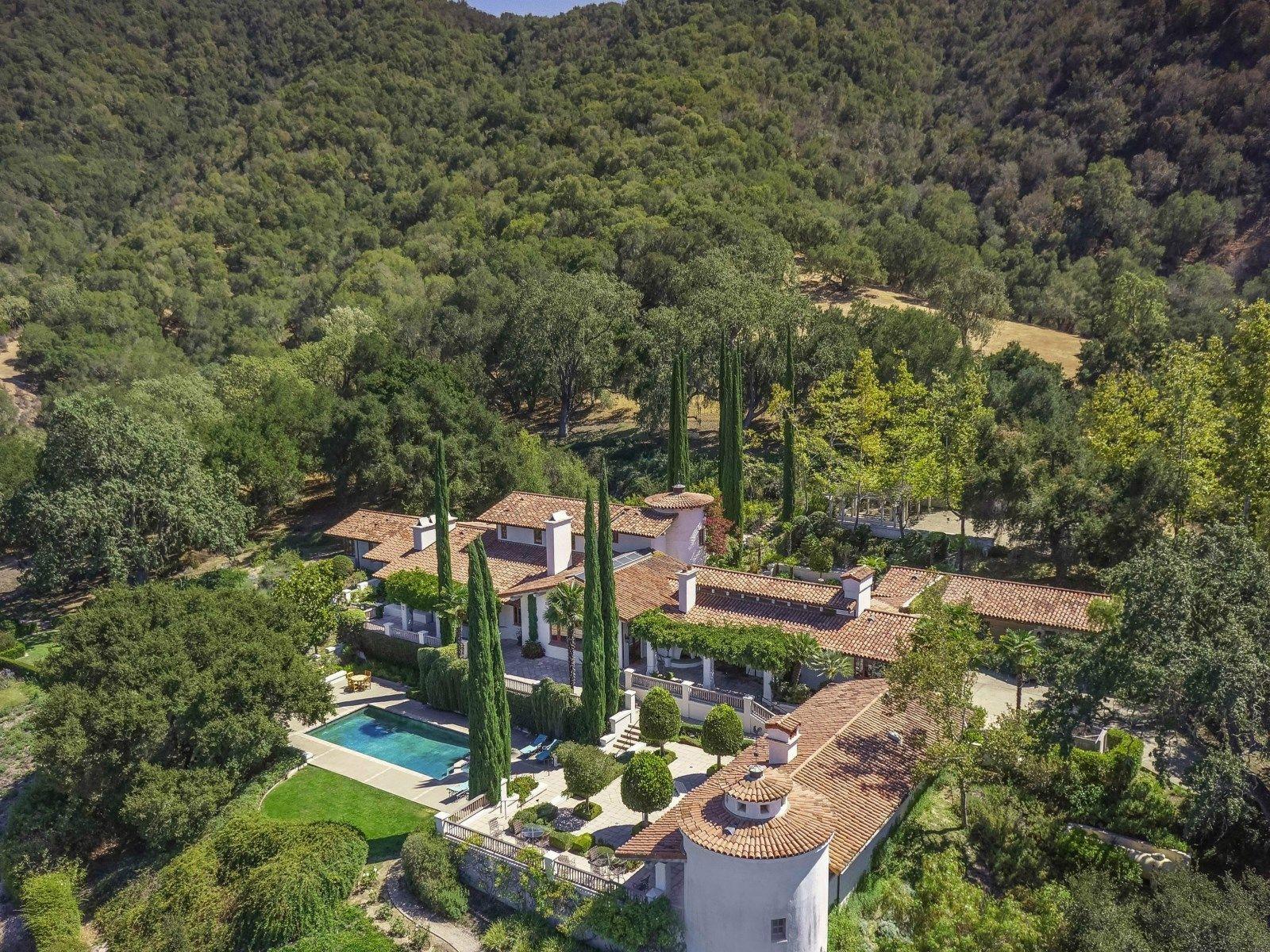 The Hacienda at Rancho Encantado, Santa Ynez CA Ranch / Farm - Santa Ynez Real Estate