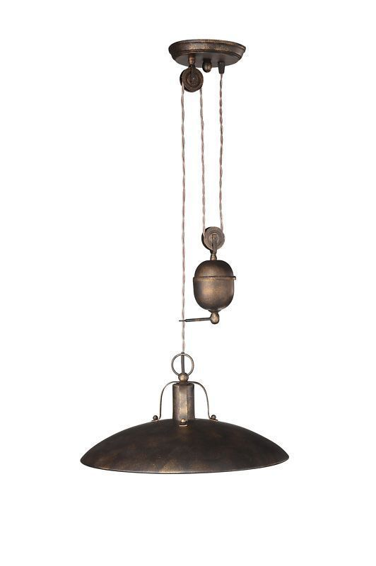 Rustic Rise and Fall Ceiling Light Pendant By Philips   Foster 37486     Rustic Rise and Fall Ceiling Light Pendant By Philips   Foster 37486 86 13