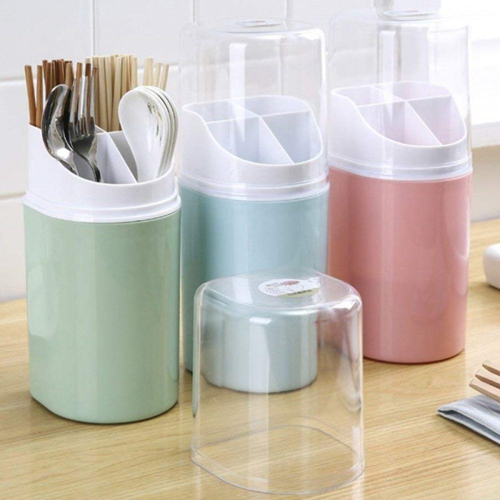 Plastic Kitchen Utensil Holder With