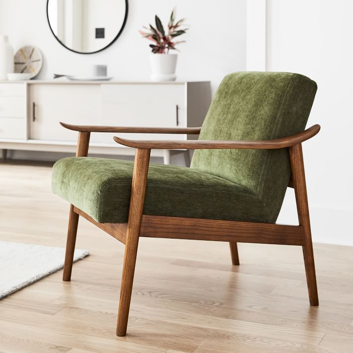 Mid Century Show Wood Chair In 2020 Mid Century Wood Chair Wood