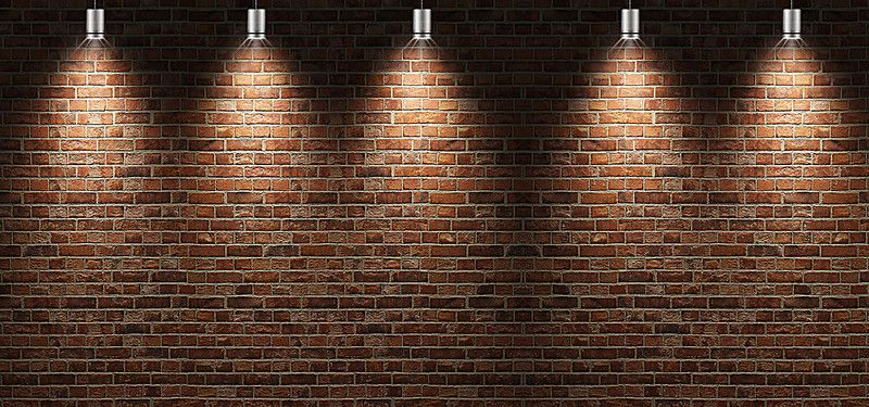 Fondos De Pared: Paredes De Ladrillo,Iluminación De Fondo, Paredes De
