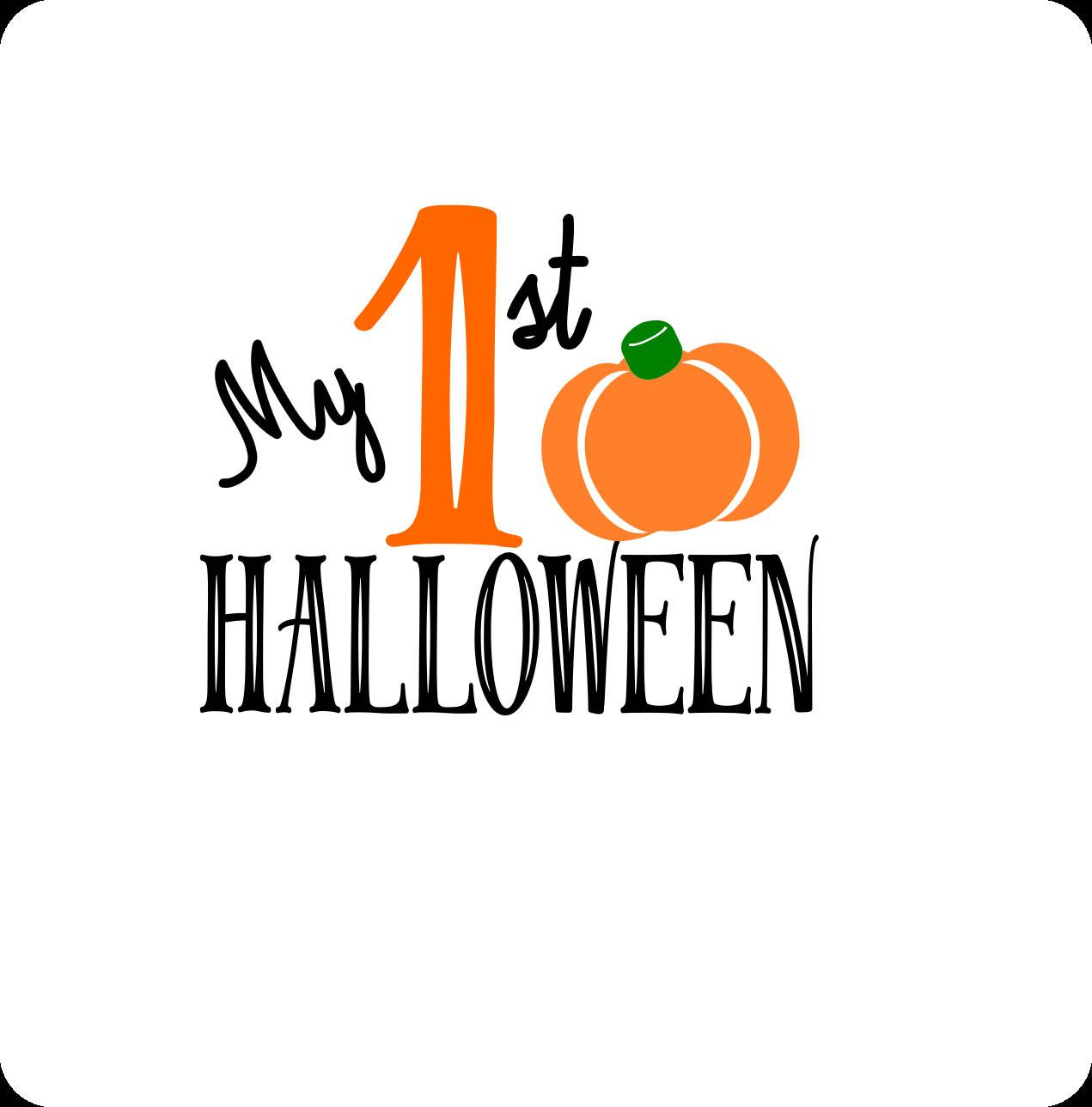Halloween Svg Pumpkin Svg My First Halloween Svg First Etsy In 2020 My First Halloween First Halloween Baby First Halloween