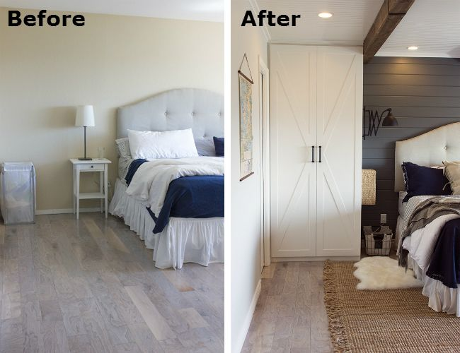 before and after bedroom makeover pictures bedroom makeover a builder grade room gets cozy 20299