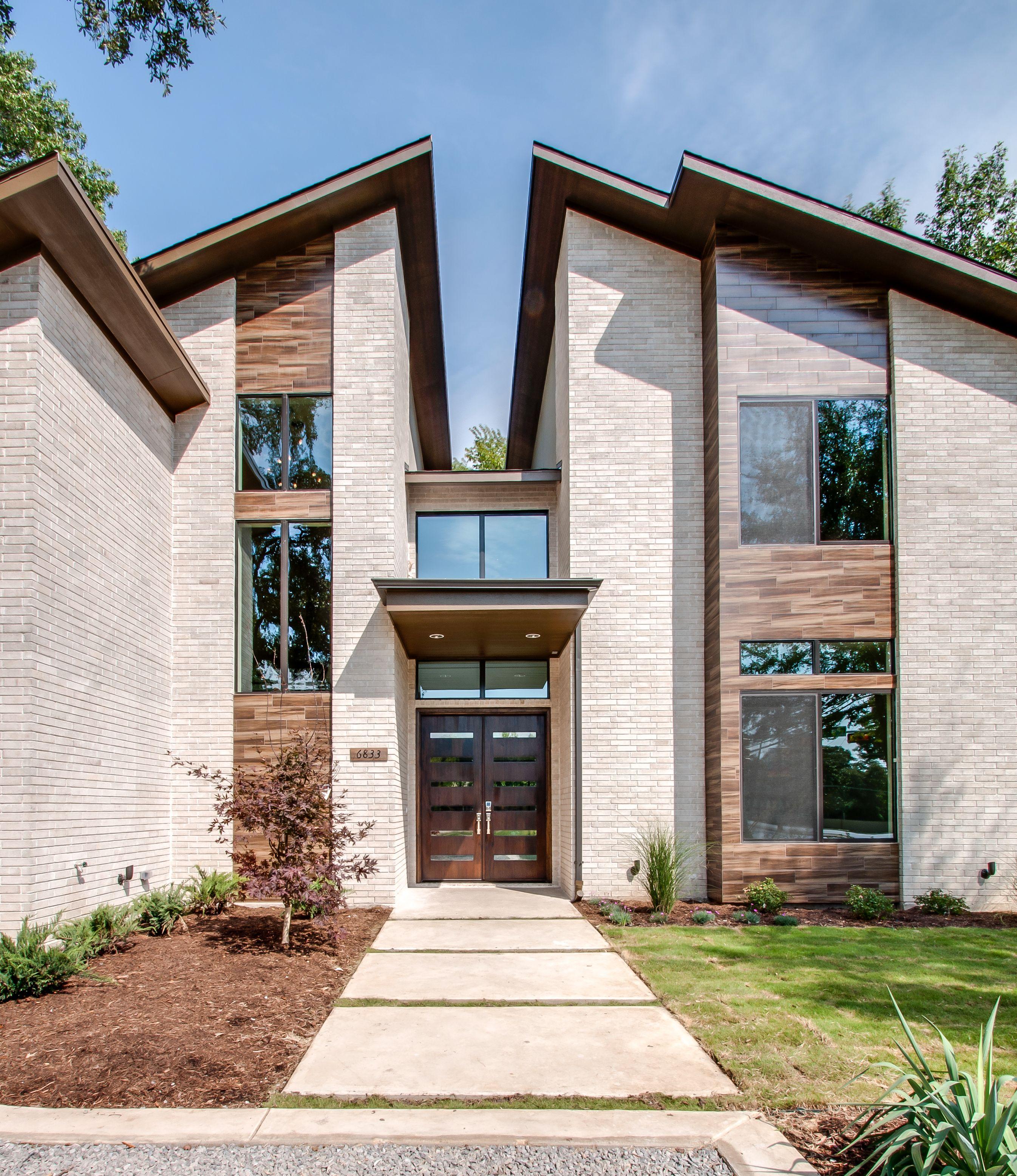 Modern Home Exterior Design Ideas 2017: Front Elevation Modern Doors