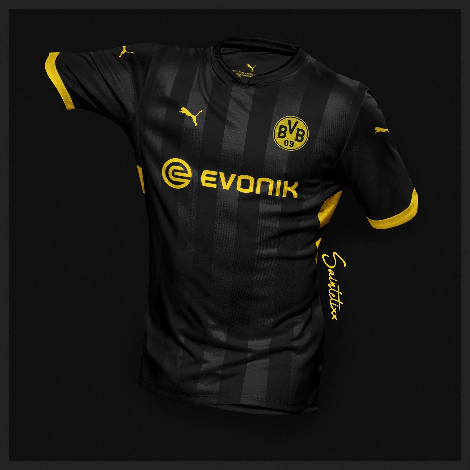 Incredible Puma Borussia Dortmund 19-20 Home, Away & Third Concept ...